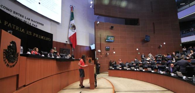 Reporte Legislativo, Senado de la República: Martes 10 de Octubre de 2017
