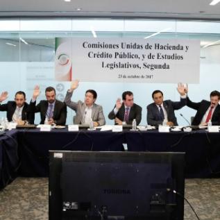 Comisiones del Senado, en sesión permanente, analizan LIF 2018