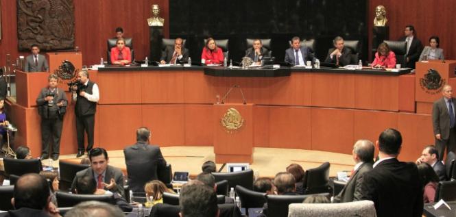 Reporte Legislativo, Senado de la República: Martes 14 de Noviembre de 2017