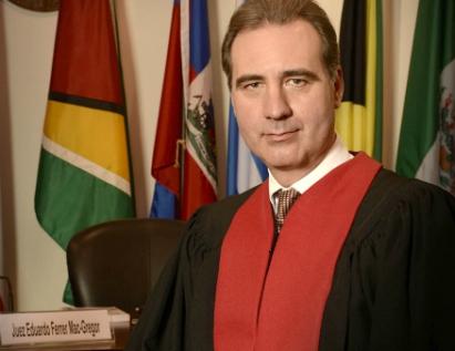 Eduardo Ferrer Mac-Gregor, Presidente de la Corte Interamericana de Derechos Humanos