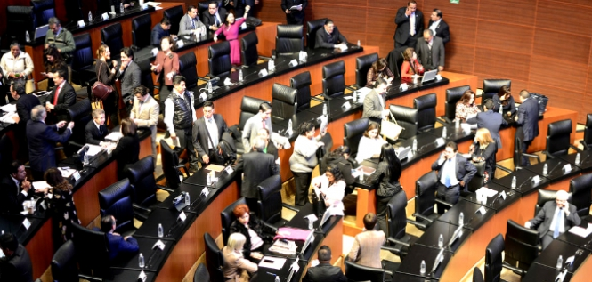Reporte Legislativo, Senado de la República: Jueves 7 de Diciembre de 2017