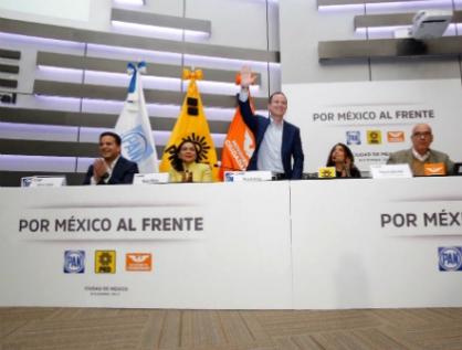 Va Anaya por candidatura presidencial del Frente y Barrales por la Jefatura de Gobierno