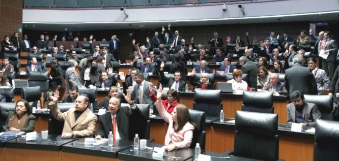 Reporte Legislativo, Senado de la República: Jueves 14 de Diciembre de 2017