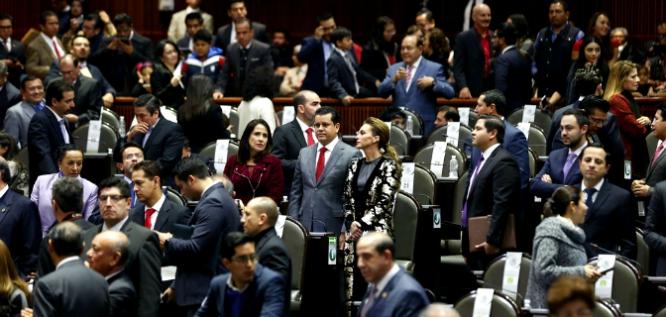 Reporte Legislativo, Cámara de Diputados: Martes 6 de Febrero de 2018