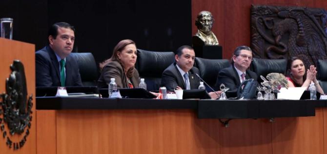 Reporte Legislativo, Senado de la República: Jueves 8 de Marzo de 2018