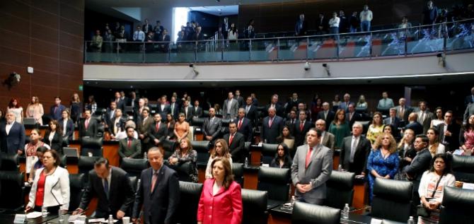 Reporte Legislativo, Senado de la República: Jueves 22 de marzo de 2018
