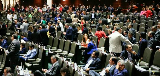 Reporte Legislativo, Cámara de Diputados: Jueves 12 de abril de 2018