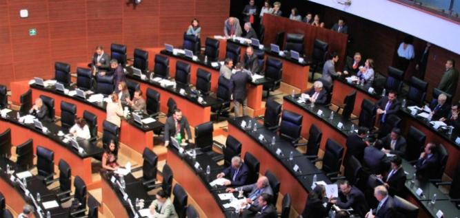 Reporte Legislativo, Senado de la República: Jueves 12 de abril de 2018
