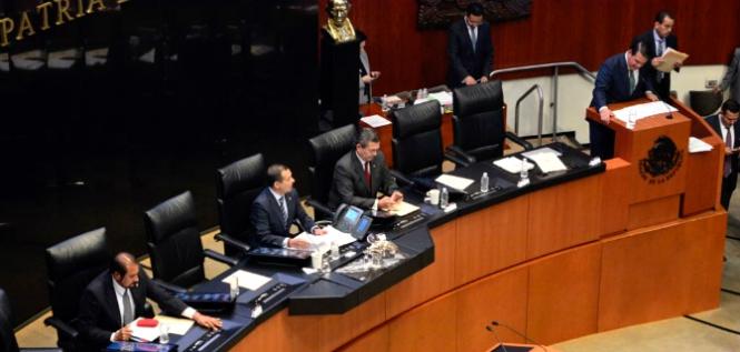 Reporte Legislativo, Senado de la República: Martes 17 de abril de 2018