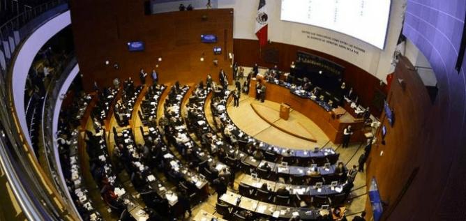 Reporte Legislativo, Senado de la República: Jueves 19 de abril de 2018