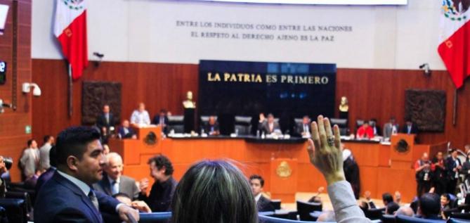 Reporte Legislativo, Senado de la República: Lunes 30 de abril de 2018