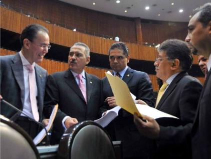 Al Senado, reforma de la administración pública