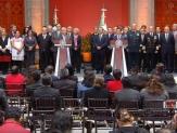 Reforma educativa será derogada: AMLO; Aeropuerto continúa: EPN