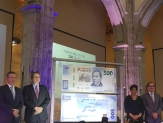 Presentan billete de 500 pesos