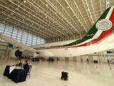 """Inicia proceso de venta del avión TP01 """"José María Morelos y Pavón"""""""