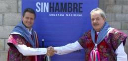Arranca el Sinhambre; EPN pide a Robles