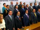 Presentan Reforma Financiera; va a diputados