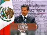Urge Peña a banca de desarrollo colocar 1 bdp  en 2013