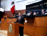 Entrega PRD iniciativa de Ley General de Combate a la Corrupción