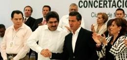 Con Espino y Robles, EPN suscribe el Plan de la Concertación Mexicana