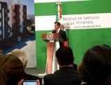 Invertirá federación 370 mmdp en vivienda en 2015