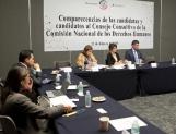 Urgen aspirantes a Consejo Consultivo a fortalecer la CNDH