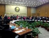 Declinan representantes de partidos acudir a sesión del INE