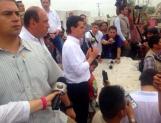 Supervisa Peña ayuda en Coahuila