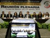Cambios a Reforma Hacendaria y Fiscal, ejes de la agenda del PRD en el Senado