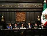 Elige Senado mesa directiva