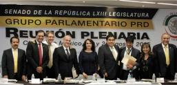 Agenda legislativa del PRD en Diputados y Senado