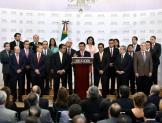 Dan posesión a nuevos funcionarios de la Secretaría de Gobernación