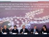 Inician licitaciones del Nuevo Aeropuerto capitalino