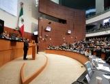 Reclama oposición a Osorio Chong política interior; PRI y Verde la defienden