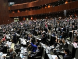 Comparecen titulares de Economía, Educación Pública y Gobernación ante diputados