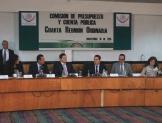 Se instala Comisión de Presupuesto y Cuenta Pública en sesión permanente