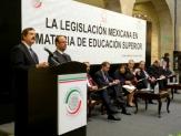 Piden rectores legislación para impulsar calidad en el sistema de educación superior