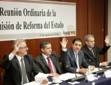 Aprueba Comisión de Reforma del Estado líneas de acción para la LXIII Legislatura