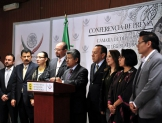 Revertir reforma energética y exigir renuncia del canciller Videgaray, temas de diputados del PRD