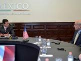 Reiteran trabajo conjunto México-EU en economía, seguridad y migración