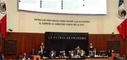 Reporte Legislativo, Senado de la República: Martes 12 de Septiembre de 2017