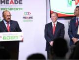 Juárez Cisneros, Presidente en funciones del PRI