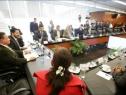 Aspirantes a Fiscal General exponen a senadores sus planes de trabajo