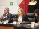 Comisión de Justicia avala terna para ministra de la Corte