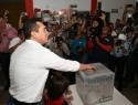 Con el 83% del PRI, es Alejandro Moreno su nuevo dirigente