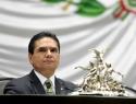 Con Reforma Anticorrupción, se despide Aureoles de la cámara baja