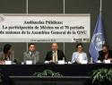 Debe México refrendar compromiso con derechos humanos ante ONU