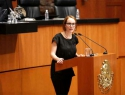 Acusan senadoras del PAN y PRD a PRI y PVEM falta de compromiso con derechos humanos