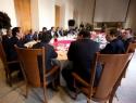Se reúnen diputados con titulares de Gobernación y Hacienda