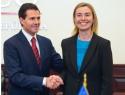 Se reúne Peña con la Alta Representante de la Unión Europea para Asuntos Exteriores y Política de Seguridad